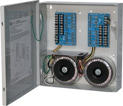 Altronix CCTV Power Supply, 16 Fused Outputs, 24VAC/28VAC @25A, 115VAC, BC300 Enclosure