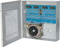 Altronix CCTV Power Supply, 32 Fused Outputs, 24/28VAC @ 14A, 115VAC, BC300 Enclosure