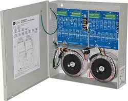 Altronix CCTV Power Supply, 32 PTC Class 2 Outputs, 24/28VAC @ 12.5A, 115VAC, BC300 Enclosure