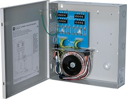 Altronix CCTV Power Supply, 8 Fused Outputs, 24VAC @ 12.5A, 115VAC, BC300 Enclosure