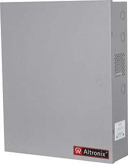 "Altronix Enclosure, 18""H x 14.5""W x 4.625""D, Grey, 19 Gauge, Indoor"