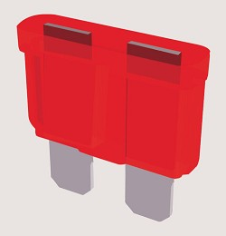 Altronix Blade Fuse, 10A, Pack of 25
