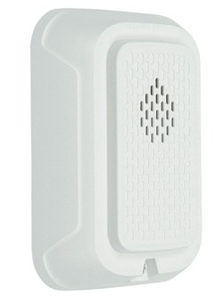 System Sensor Chime White Wall