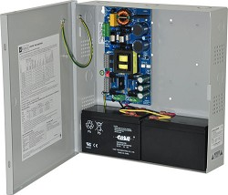 Altronix EFLOW104N Power Supply Charger, Single Output, 24VDC @ 10A, Aux Output, FAI, LinQ2 Ready, 115VAC, BC300 Enclosure