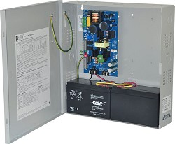 Altronix EFLOW4N Power Supply Charger, Single Output, 12/24VDC @ 4A, Aux Output, FAI, LinQ2 Ready, 115VAC, BC300 Enclosure