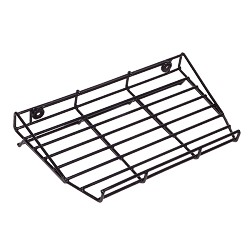 STI-Kit-W07530 Wire Rack for AED mounting - Black