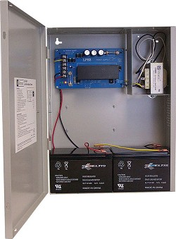 Altronix LPS3C24X Linear Power Supply/Charger, Single Class 2 Output, AC Fail Supervision, 24VDC @ 2.5A, 115VAC, BC400 Enclosure