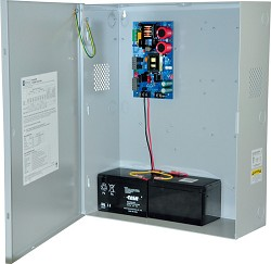 Altronix MAXFIT3FE Single Power Supply Expandable Power Systems, 12VDC or 24VDC @ 6A. BC750 Enclosure