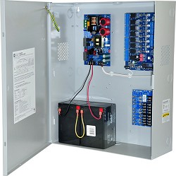Altronix MAXFIT5F8AP Access Power Controller Kit - BC750 enclosure with eFlow102NB, ACM8, PD8UL