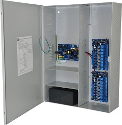 Altronix MAXIMAL3 Access Power Controller w/ Power Supply/Charger, 16 Fused Relay Outputs, 12/24VDC @ 6A, 115VAC, BC800 Enclosure