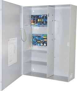 Altronix MAXIMAL37FE Power Supply/Charger, Expandable, 1 P/S 12/24VDC @ 6A & 1 P/S 24VDC @ 10A, FAI, LinQ2 Ready, 115VAC, BC800 Enclosure