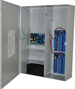 Altronix MAXIMAL3F Access Power Controller w/ Power Supply/Charger, 16 Fused Relay Outputs, 12/24VDC @ 6A, FAI, LinQ2 Ready, 115VAC, BC800 Enclosure