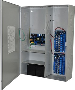 Altronix MAXIMAL5F Access Power Controller w/ Power Supply/Charger, 16 Fused Relay Outputs, 12VDC @ 9A, FAI, LinQ2 Ready, 115VAC, BC800 Enclosure