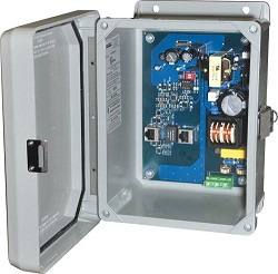 Altronix NETWAY1DWP Midspan Injector, Outdoor, Single Port, 10/100/1000, PoE/PoE+/Hi-PoE, 60W, 115/220VAC, WP4 Enclosure, Outdoor