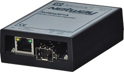 Altronix NETWAYSP1A  PoE Powered Media Converter/Repeater.