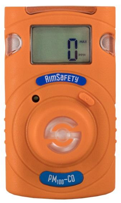 Macurco AimSafety PM100-CO Carbon Monoxide (CO) Single-Gas Monitor
