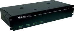 Altronix R2416600UL  CCTV Power Supply, 16 Fused Outputs, 24/28VAC @ 25A, 115VAC, 2U