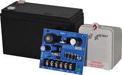 Altronix SMP312CX  Power Supply Charger, Single Output, 6/12/24VDC @ 2.5A, 16-28VAC, Board, Includes BT126 and TP1640