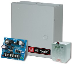 Altronix SMP3ET  Power Supply Charger, Single Output, 6/12 @ 2.5A, 16-28VAC, BC100 Enclosure, includes TP1640