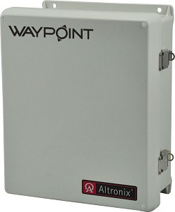 Altronix WAYPOINT10A4DU  CCTV Power Supply, Outdoor, Four (4) Class 2 Rated PTC protected power-limited outputs, 24VAC @ 4A or 28VAC @ 3.5A, 115/220VAC, WP3 Enclosure