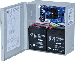 Altronix AL100UL Linear Power Supply/Charger, Single Class 2 Output, 12VDC @ .75A, 16.5VAC, BC100 Enclosure