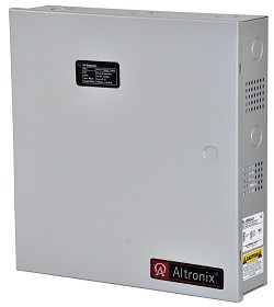 Altronix AL125ULX Access Control Power Supply Charger, 2 PTC Class 2 Outputs, 12/24VDC @ 1A, 115VAC, BC300 Enclosure