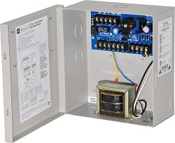Altronix AL175UL Access Control Power Supply Charger, 2 PTC Class 2 Outputs, 12/24VDC @ 1.75A, 115VA, BC100 Enclosure