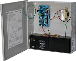 Altronix AL175ULX Access Control Power Supply Charger, 2 PTC Class 2 Outputs, 12/24VDC @ 1.75A, 115VAC, BC300 Enclosure