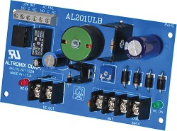 Altronix AL201ULB Power Supply Charger, Single Class 2 Output, 12VDC @ 1.75A, 24VAC, Board