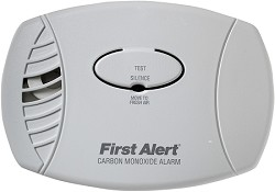 First Alert CO600B Plug-in Carbon Monoxide Alarm
