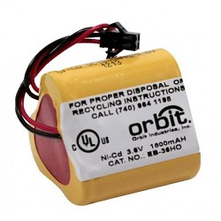 Orbit EB-36HO 3.6V, 1800mAH, NiCad BATTERY FOR HIGH OUTPUT