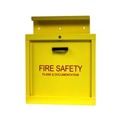 Space Age Electronics BCDB-Y24 Beacon Construction Document Box - Yellow