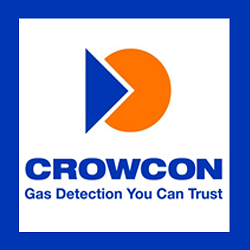 Crowcon QT-GP-02-R2 Power ready Q-Test with multi-region power supply (100-240V 50/60Hz), 0.5L/min. fixed flow trigger regulator