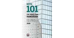 NFPA 101, Life Safety Code Handbook, Soft Bound, 2018 Edition