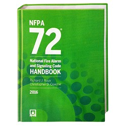 NFPA 72: National Fire Alarm and Signaling Code Handbook, 2016 Edition, Hardbound