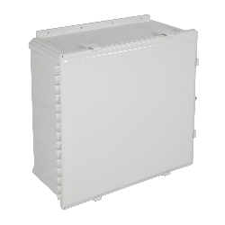 STI EP242410-O, Polycarbonate Enclosure, Opaque Hinged Door - 24-in H x 24-in W x 10-in D