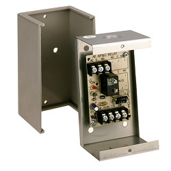 Space Age SSU MR-101/C, Multi-Voltage Control Relay, 10A, SPDT, 1 Position, Grey Enclosure