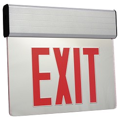 Orbit ESSE-A-1-G-EB Surface Mount Edge-Lit Led Exit Sign