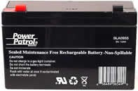 Power Patrol SLA0955, 6V/10 AH SLA Battery