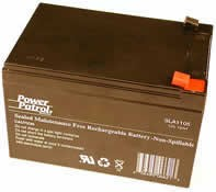 Power Patrol SLA1105, 12V/12 AH SLA Battery