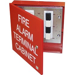 Space Age SSU00660 IF2, 32 Pt. Fire Alarm Terminal Cabinet