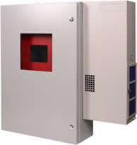 STI Metal Protective Cabinet w/ Air Conditioner