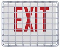 "STI Exit Sign Damage Stopper, 13.75""x10.5""x2.75"""