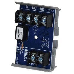 Altronix RBTUL, Sensitive Relay Module - 12VDC or 24VDC operation, 3VDC to 24VDC positive trigger input