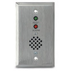 Air Products & Controls MS-RH/P/A, Remote Alarm with Pilot & Horn for Single Gang Box