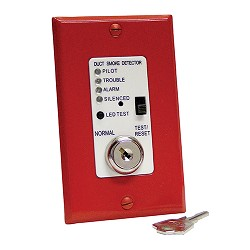 Air Products & Controls MSR-100R/R, Control w/ Indicator/Control Assembly w/ Red Single Gang Cvr
