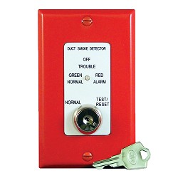 Air Products & Controls MSR-50RK/R, Remote Control Assembly w/ Single Gang Cover Plate, Red