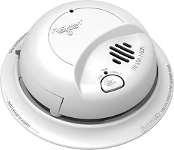 BRK 9120B 120V Ionization Smoke Detector w/Battery Backup