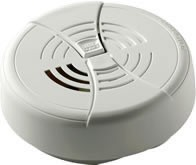 BRK FG250B Single-Station, Dual-Ion Smoke Alarm w/Silence, Tamper, 9VDC