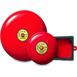 Gentex GB10-120, 120VAC 10-in Fire Alarm Bell, 90 dBA at 10 feet